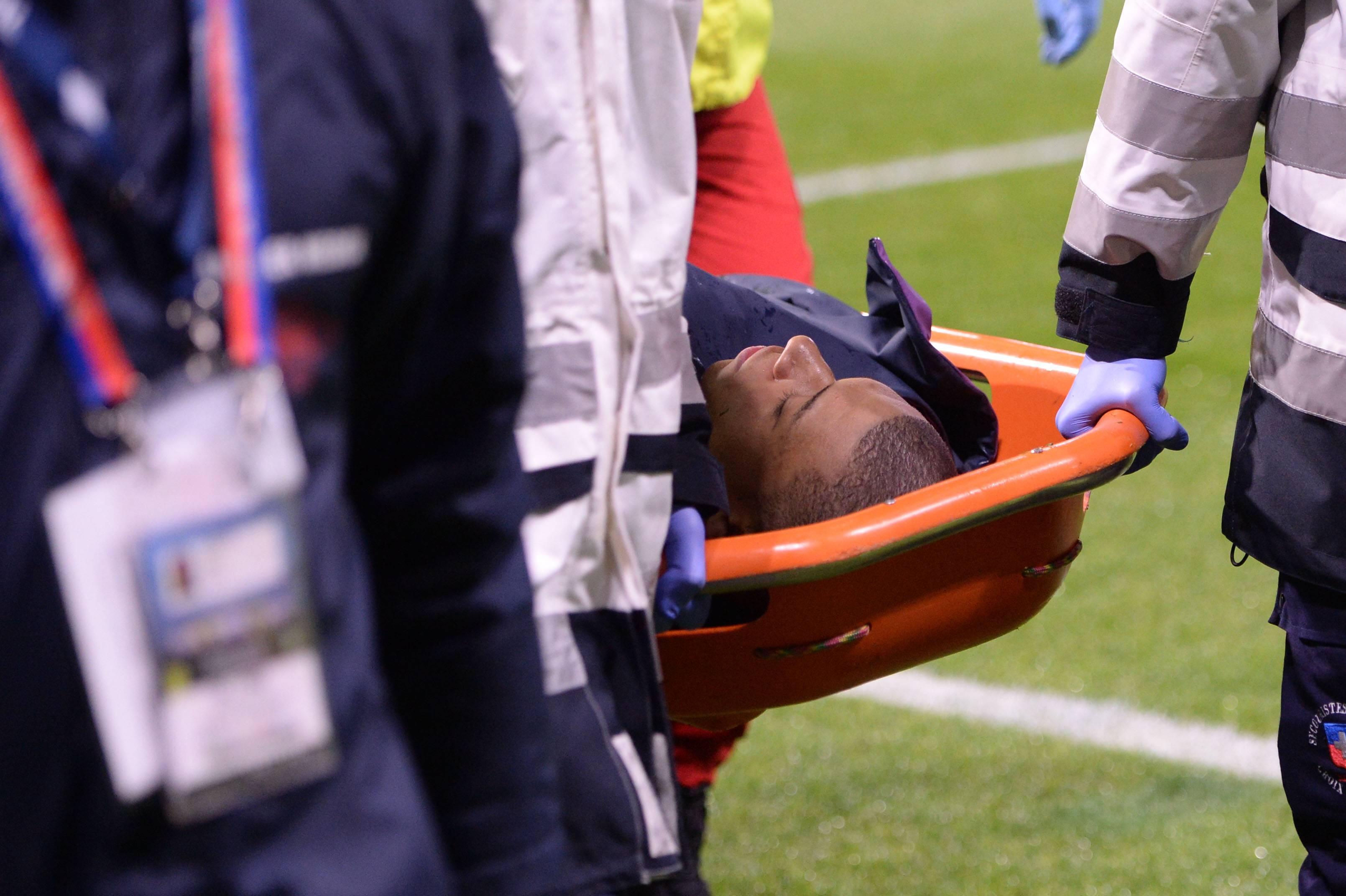 Mbappe Verletzung