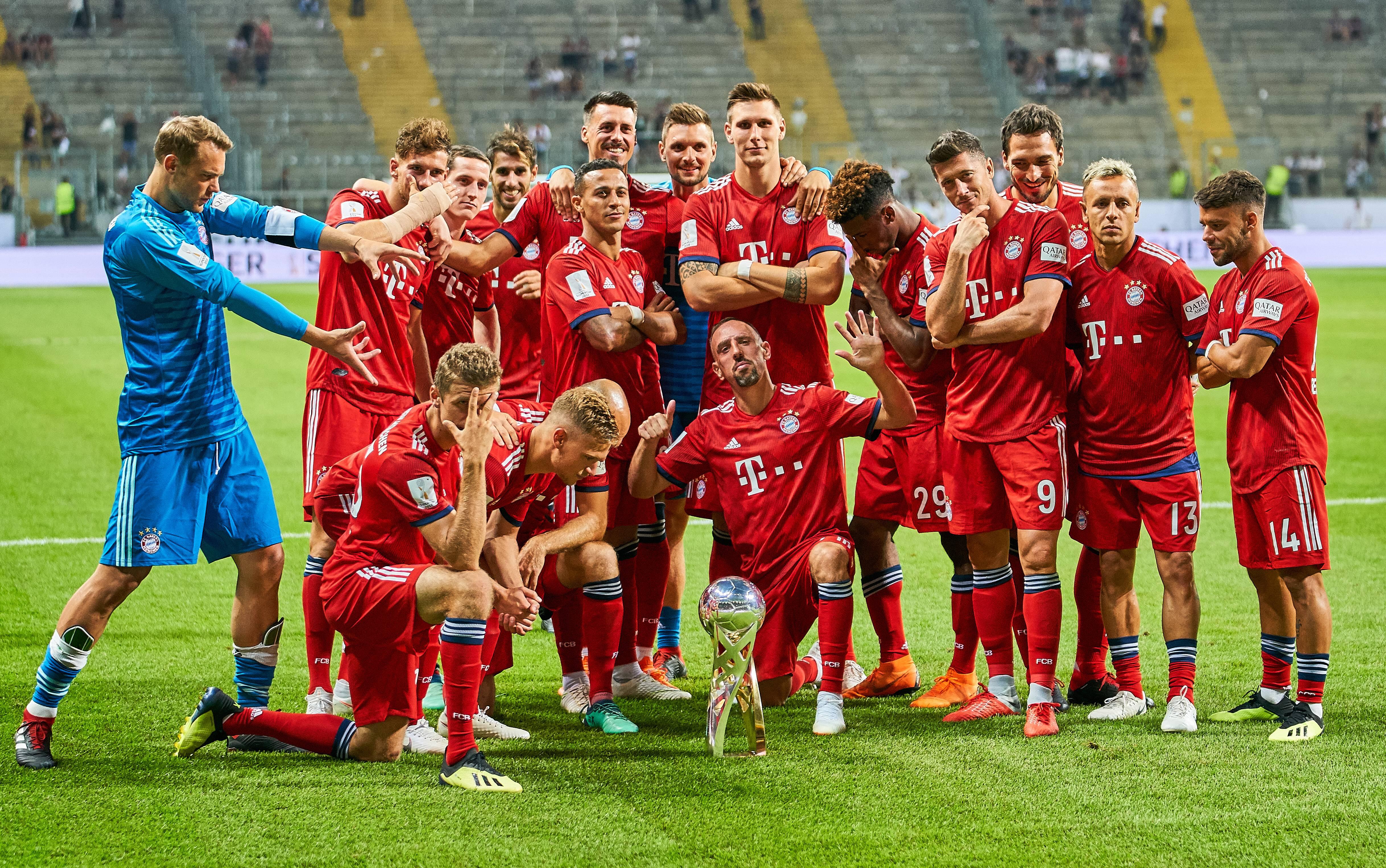 Fußball Bayern Gestern